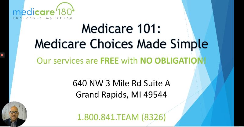 Medicare180 Education Series Medicare 101